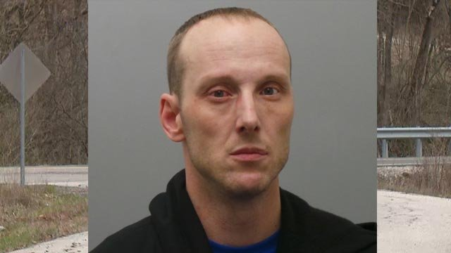 Brian Rasdall, 38, is accused of killing 27-year-old Christopher Austin (Credit: St. Louis County Police)