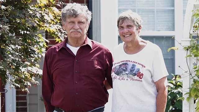 Carl and Janice Duffner.  Credit: KMOV