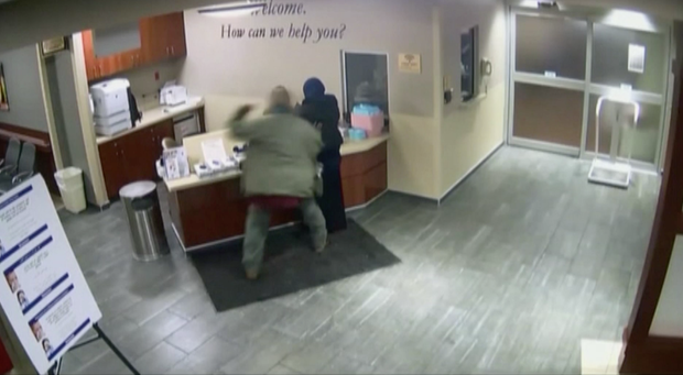 Video of the alleged assault has been released.  WJBK-TV