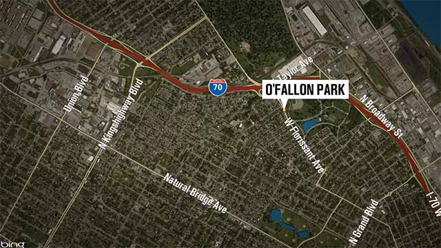 Location of O'Fallon Park. Credit: KMOV