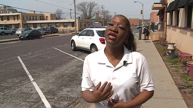 Lakesha Neverls is hoping to get her dog back after the Humane Society took it in as a stray. (Credit: KMOV)