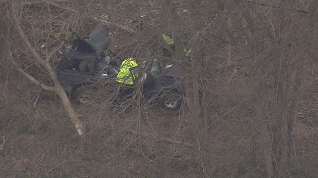 One victim has died and another victim is severely injured following an accident that took place at Old 21 and Old Lemay Ferry around 7:30 a.m. (Credit: KMOV)