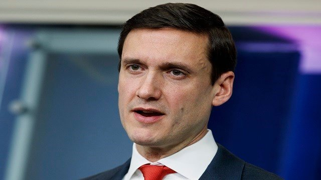 White House Homeland Security Adviser Tom Bossert speaks during a briefing blaming North Korea for a ransomware attack that infected hundreds of thousands of computers worldwide in May and crippled parts of Britain's National (Credit:AP Photo/Evan Vucci)