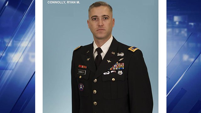 Chief Officer Ryan Connolly was a native of Manchester. (Credit: US Army)