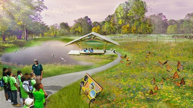 Rendering of proposed Educational experience at St. Louis Zoo (Credit: St. Louis Zoo)
