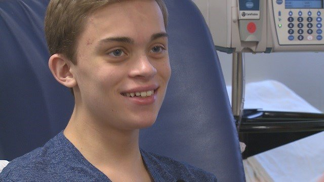 Daniel Smith received his new heart on March 27 at Children's Hospital. (Credit: KMOV)