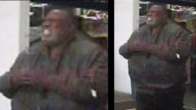 Police are searching for this man who allegedly stole $100 worth of shrimp from Sam's. (Credit: Chesterfield police)
