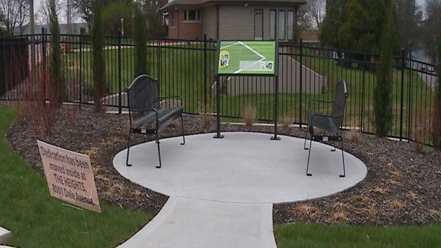 City officials in Richmond Heights and theRichmond Heights Historical Society have dedicated a new park to an international tennis star Arthur Ashe and his coach Richard Hudlin. (Credit: KMOV)