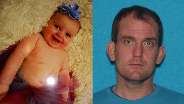 Aubrey Gardner, 7 months, is believed to be with her biological father, Dalton Gardner (Credit: Missouri State Highway Patrol)