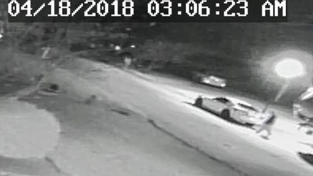 Swansea police are looking for suspect(s) in a string of car break-ins that happened overnight Tuesday. A semi-automatic pistol was one of many items stolen. (Credit: Swansea PD)