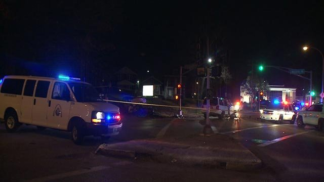 Accident reconstruction was called to Halls Ferry and McLaran after a fatal crash Thursday (Credit: KMOV)