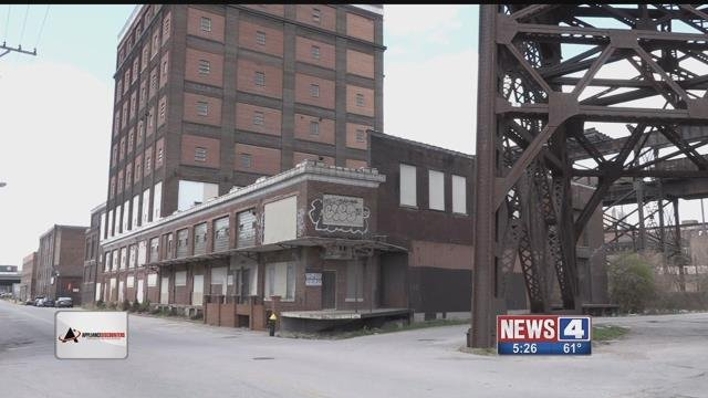 Rundown buildings near the riverfront. Credit :KMOV