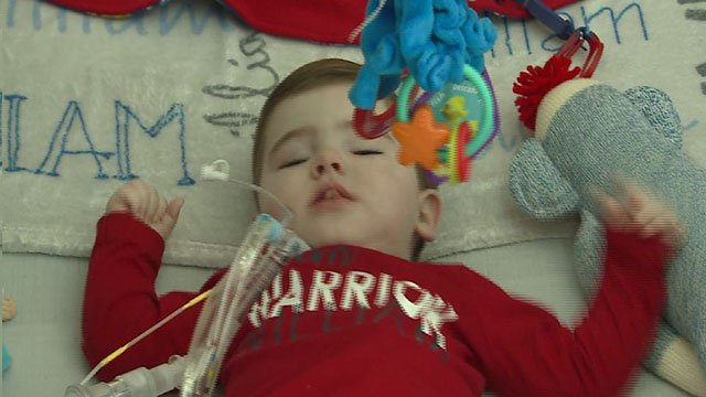 William Aubochon, 1, was diagnosed with Rett Syndrome, a rare genetic disease.