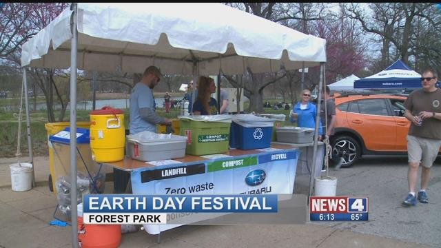 St. Louis Earth Day held its annual festival at Forest Park Saturday ( Credit : KMOV)