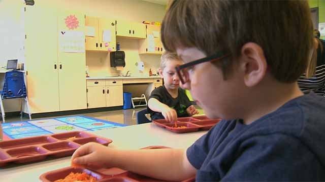 A new program in a St. Charles County school district is tackling the issue of food preferences. Credit: KMOV