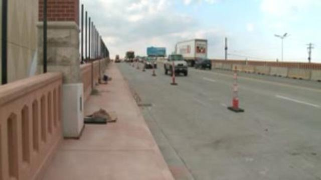 Construction on the Kingshighway Bridge (Credit: KMOV)
