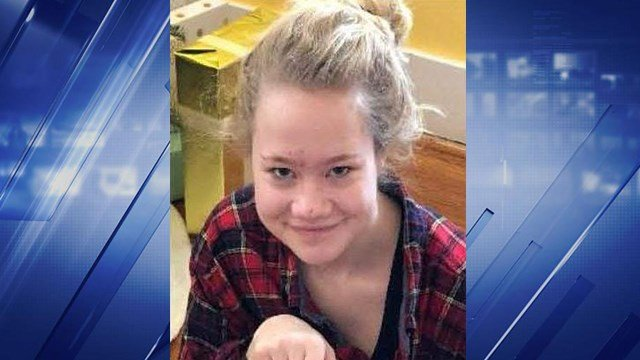 Katie Barrett, 17, was last seen on April 25. Katie is deaf, but can read lips. Anyone with information is asked to call 314-645-3000. (Credit: Webster Groves PD)