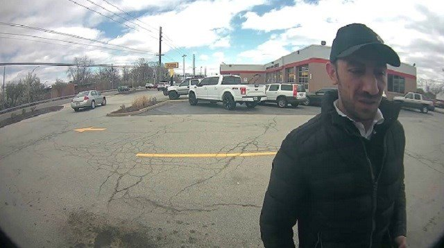 Anyone with information on the suspect pictured is asked to call 314-298-8700. (Credit: Maryland Heights PD)