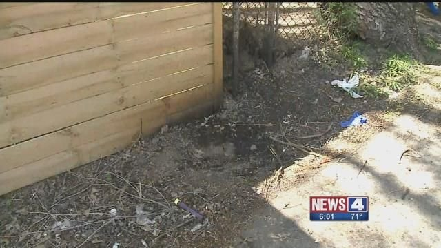 News 4 found evidence of Drano bombs that allegedly went off in South St. Louis ( Credit: KMOV)