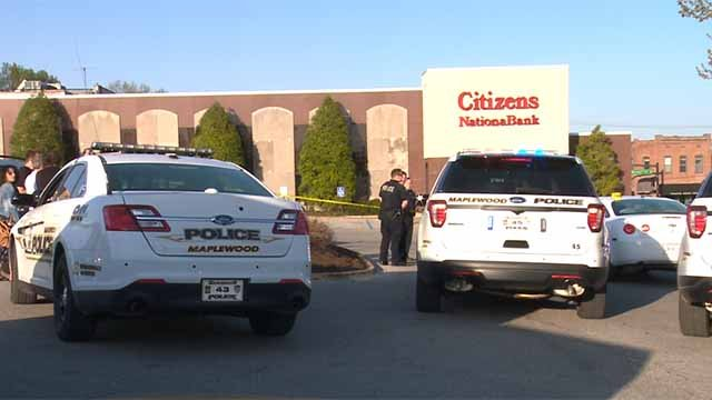 Police said a woman was shot while she walking in the parking lot of Shop 'n Save in Maplewood on Friday evening. Credit: KMOV