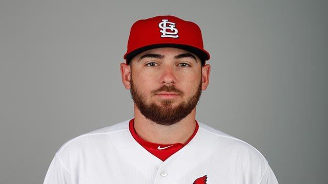This is a 2018 photo of Austin Gomber of the St. Louis Cardinals baseball team.  (Credit: AP Photo / Jeff Roberson)