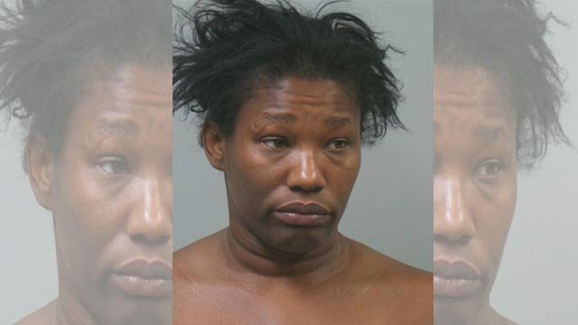 Rose Green, 40, is facing 3 charges after allegedly stabbing a person & kicking an arresting officer in Maplewood on April 20 (Credit: Maplewood Police / Facebook)