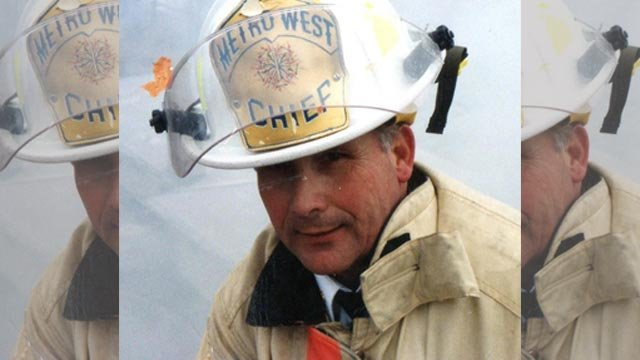 Retired Metro West Fire Chief Jim Silvernail (Credit: Metro West Fire Protection District)