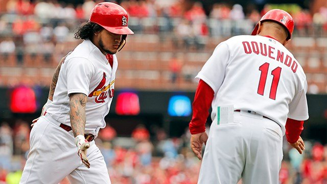 ST. LOUIS (AP) — Carlos Martinez hit his first major league home run and also threw 7 1-3 effective innings to lead the St. Louis Cardinals to a 3-2 win over the Chicago White Sox on Wednesday.