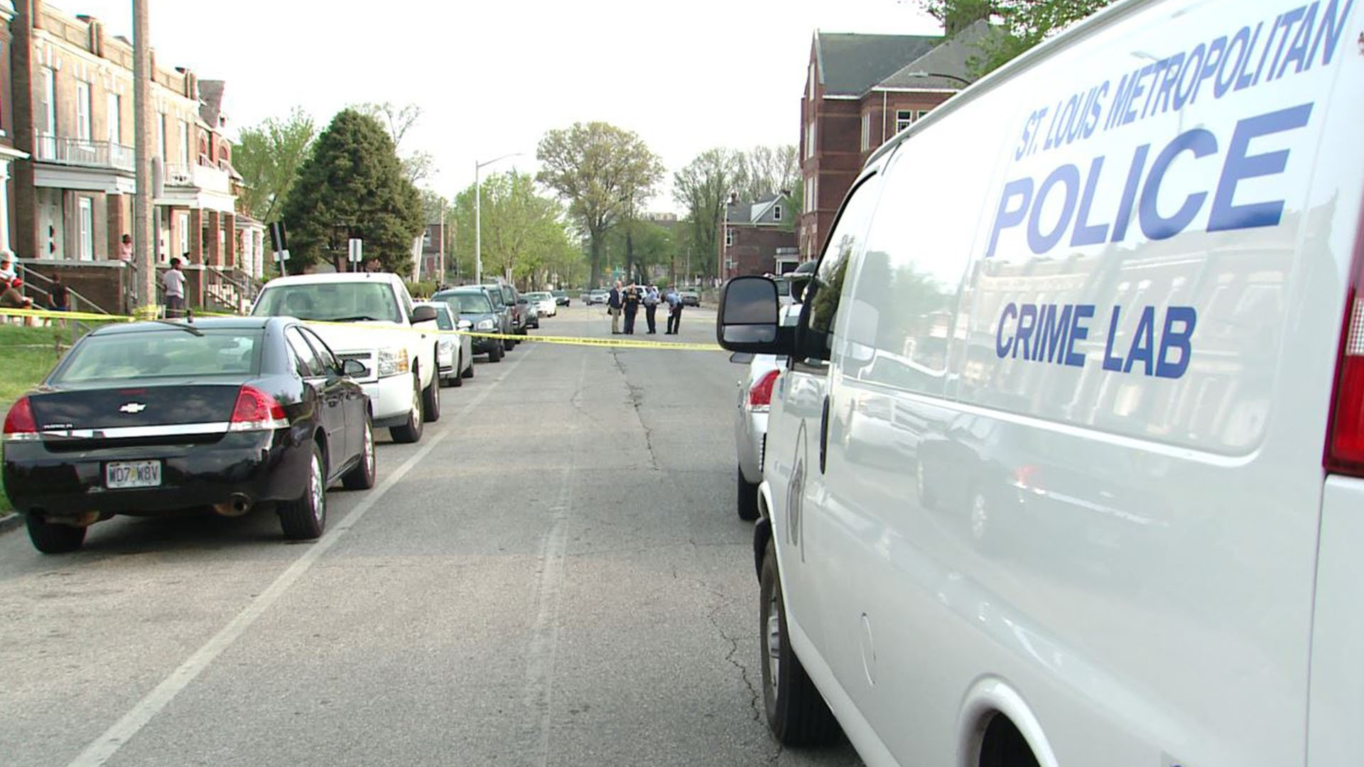Police are investigating after a 14-year-old boy was shot in North St. Louis (Credit: KMOV)
