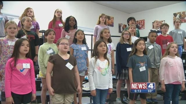 St. Louis Children's Choir. Credit: KMOV