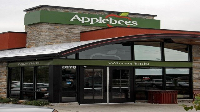 The Applebee's location in St. Peters, Mo. is seen in this Sept. 26, 2007 file photo. (Credit: AP Photo/Tom Gannam, file)