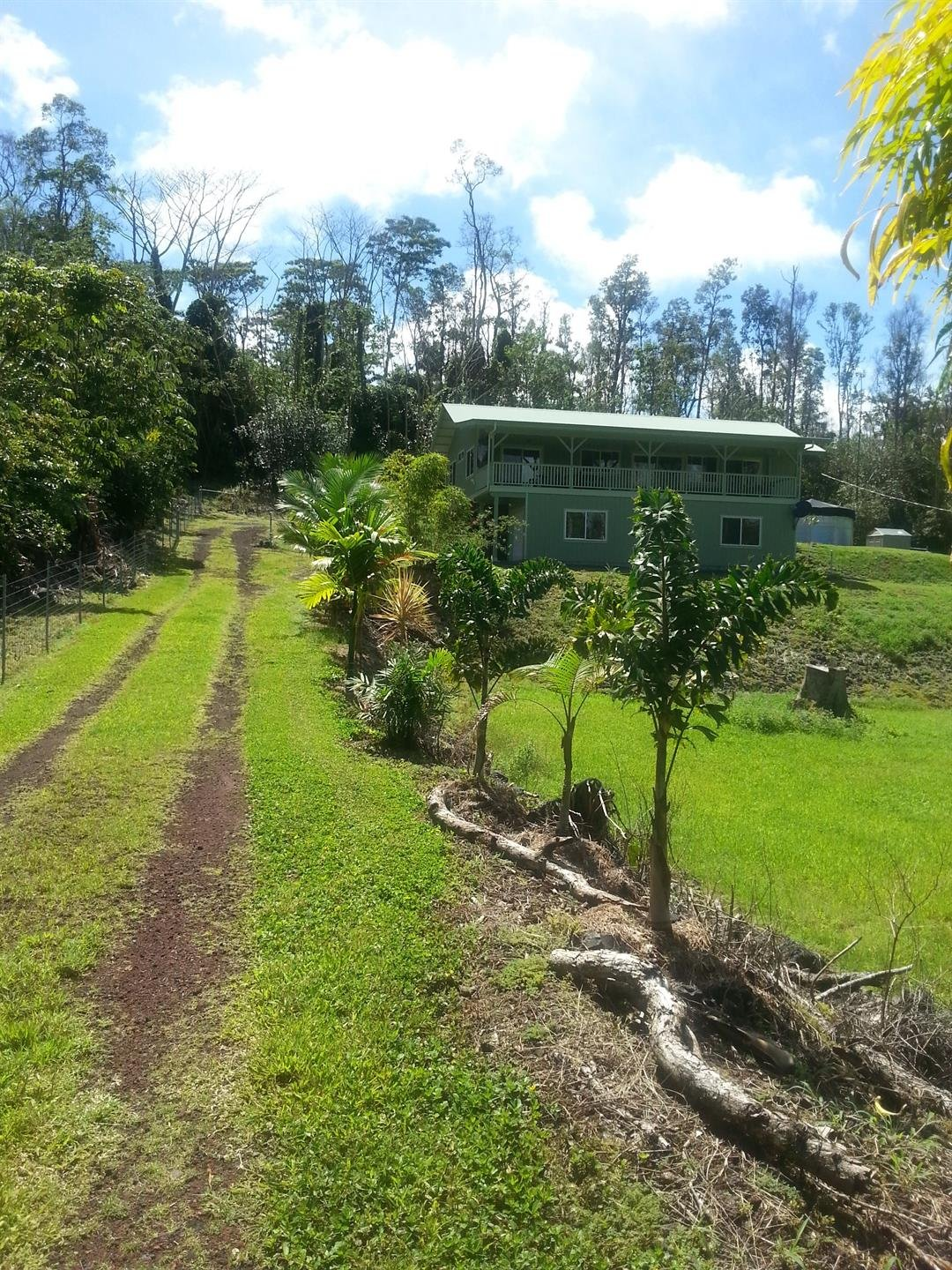 This is the home of Belleville, IL native Hope Northway. The house was destroyed by lava from the Kilauea volcano eruption of 2018 and is believed to buried by 40 feet of lava.