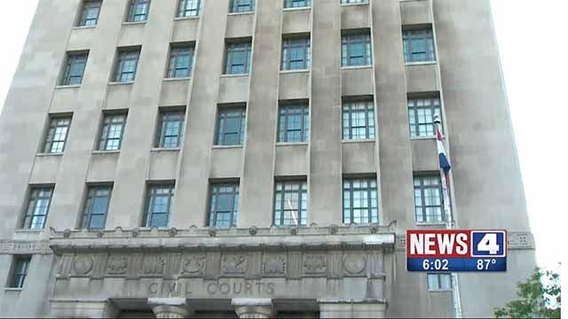 The St. Louis Civil Courts building. Credit: KMOV