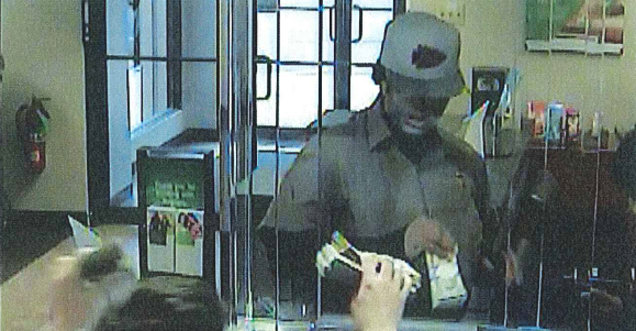 Police are looking for help identifying a pair of suspected bank robbers after a May 9th hold up at a Regions Bank in St. Louis.  (Credit: SLMPD)