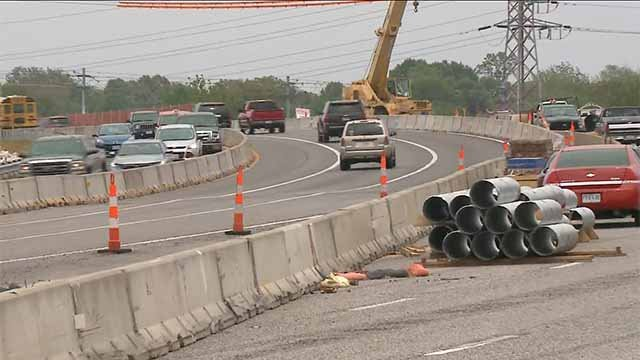 Many drivers are complaining about speeding that is occurring in a construction zone on I-44 in Shrewsbury. Credit: KMOV
