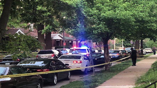 Detectives are investigating a quadruple shooting in the Penrose neighborhood. ( Credit: KMOV)
