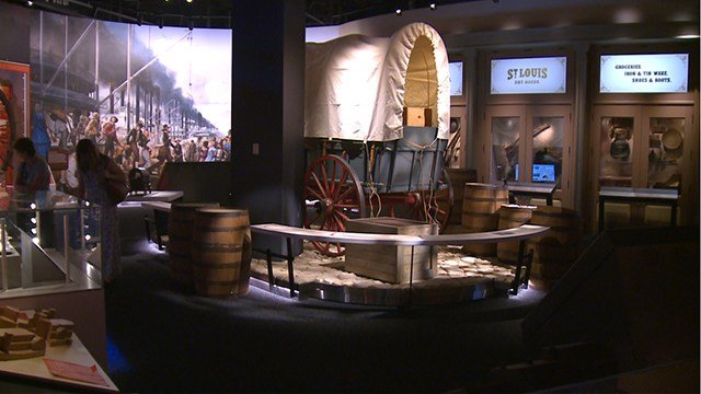 New exhibits at the Muesum at the Gateway Arch will showcase St. Louis' role in the Westward expansion. (Credit: KMOV)