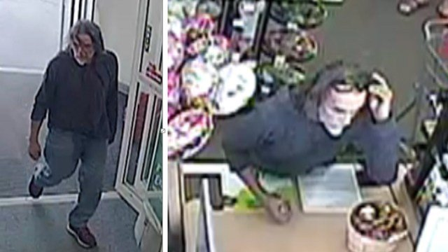 Police are searching for a man in connection with a robbey at a CVS pharmacy. (Credit: O'Fallon, Illinois Policew Department)