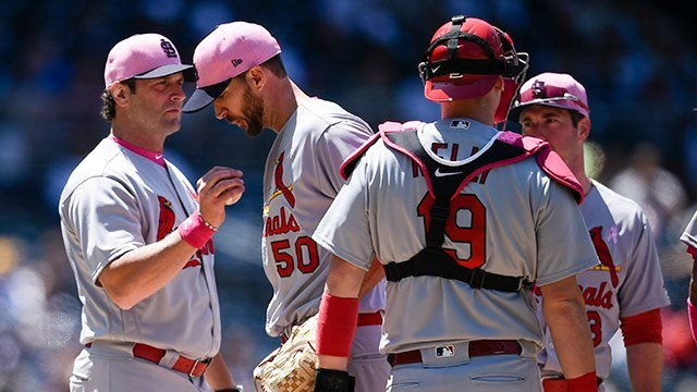 Cardinals place Wainwright on 10-day DL