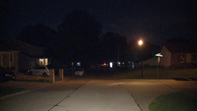 A person was stabbed on Four Winds Drive in St. Charles County Tuesday (Credit: KMOV)