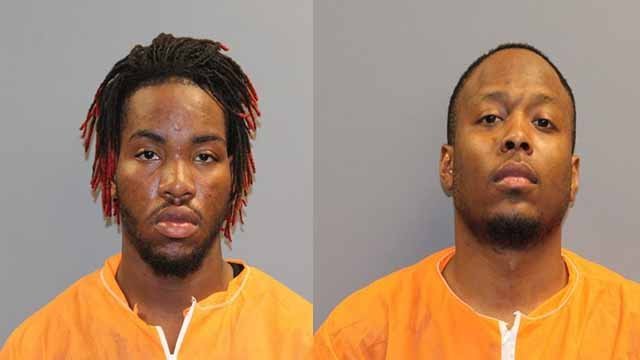 Joshua Branch, 19, of East St. Louis, and Paul Graham, 22, of Cahokia, are each charged with armed robbery with a firemarm. Credit: Belleville PD