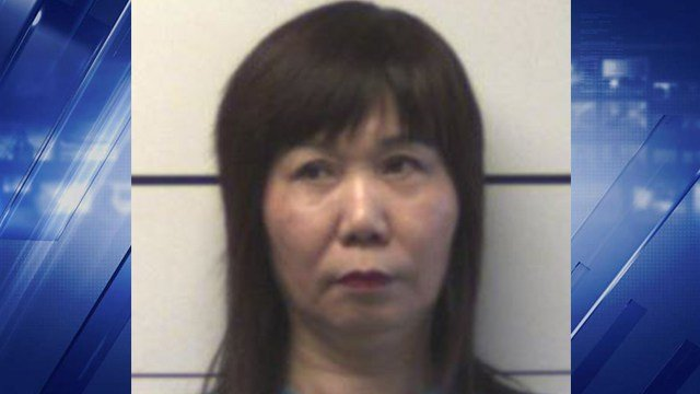 Yaoqin Zhu was charged with prostitution and second degree sexual abuse, both misdemeanors, on May 15. (Credit: St. Charles County PD)