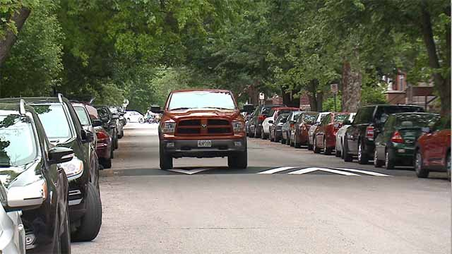 Eight speed humps have been installed in the Tower Grove area as a way to slow down drivers. Credit: KMOV