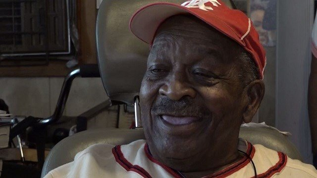 Samuel Taylor, a former Negro League catcher, will throw out the first pitch in Sunday's game against the Phillies. (Credit: KMOV)