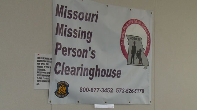 Police in Missouri and Illinois are stepping up efforts to solve local missing persons cases. (Credit: KMOV)
