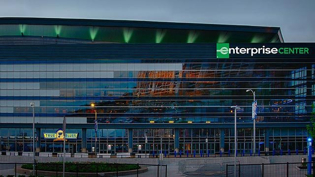 Rendering of the outside of the Enterprise Center (Credit: EnterpriseCenter.com)