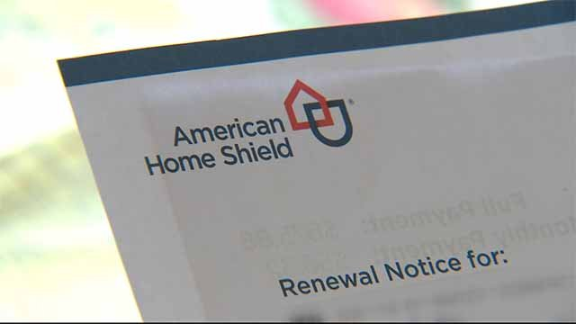 A home warranty from American Home Shield. Credit: KMOV