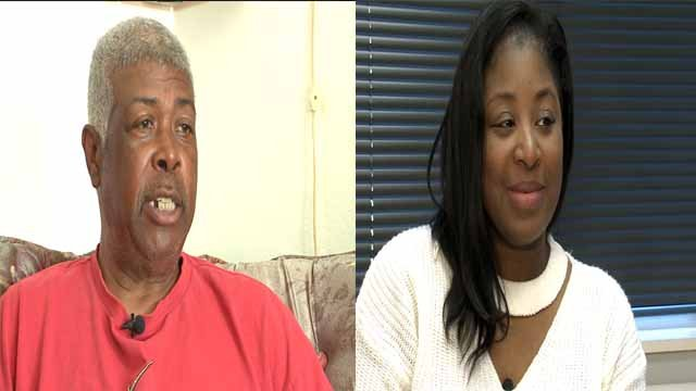 Mayor Willie Fair (L) and former mayor Rachel White (R). Credit: KMOV