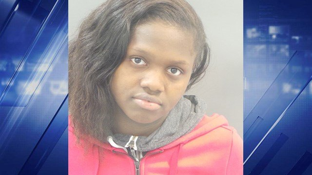 Jamaica Jackson, 18, was taken into custody Wednesday, May 23 on involuntary manslaughter charges for the death of 7-year-old Demond Moorehead in 2016. (Credit: KMOV)