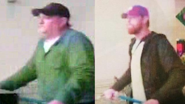 Police in Chesterfield are asking for help locating two suspects after a computer was stolen from Sam's Club (Credit: Chesterfield Police / Facebook)